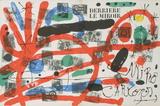 Derriere Le Miroir, no. 151-152 Cover Serigraph by Joan Miro