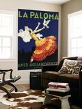 Spain - La Paloma - Anis Aguardiente Promotional Poster Wall Mural by  Lantern Press