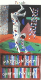 Harlequin from Parade Serigraph by David Hockney