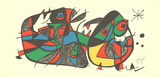 Escultor Italy Serigraph by Joan Miro