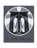 To the Bridge (Brooklyn Bridge) Serigraph by Robert Indiana