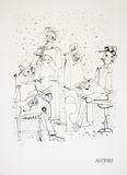 Les Musiciens Collectable Print by Paul Aizpiri