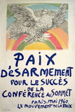 Paix Disarmement-Peace Serigraph by Pablo Picasso