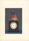 L'Horloge (The Clock) Limited Edition by  Labisse