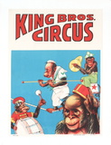 Circus Collectable Print by  King Brothers