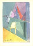 Intimite (Lg) Serigraph by Jacques Villon