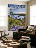 Lake Tahoe, California - Emerald Bay Wall Mural by  Lantern Press