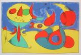 Zephir Vogel - Zephyr Bird Serigraph by Joan Miro