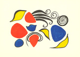 Sea Objects Serigraph by Alexander Calder