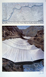 Over the River, Project for Arkansas River, Colorado- From Above Collectable Print by Javacheff Christo