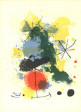 Composition (Lg) Serigraph by Joan Miro