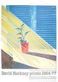 Sun from the Weather Series Collectable Print by David Hockney
