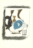Verre et Pichet Serigraph by Georges Braque