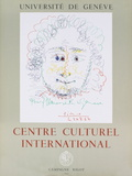 Centre Culturel International Serigraph by Pablo Picasso