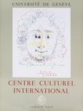 Centre Culturel International Serigraph by Pablo Picasso