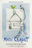 House in My Village (Foyer Des Jeunes) Serigraph by Marc Chagall