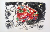 Derriere le Miroir, no.198, pg 14,15 Serigraph by Marc Chagall