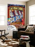 Las Vegas Casino Montage Wall Mural by  Lantern Press