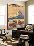Many Glacier Hotel, Glacier National Park, Montana Wall Mural by  Lantern Press