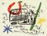 Ubu from Teriade Serigraph by Joan Miro