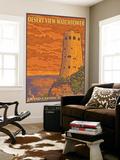 Desert Watchtower, Grand Canyon, Arizona Wall Mural by  Lantern Press