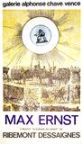 La Ballade du Soldat Serigraph by Max Ernst