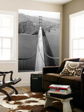 San Francisco, California - Golden Gate Bridge from Bridge Pinnacle Wall Mural by  Lantern Press