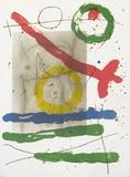 Derriere le Miroir, no. 151-152, pg 22 Serigraph by Joan Miro