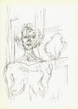 Annette (Lg) Serigraph by Alberto Giacometti