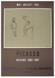 Dessins 1903-1907 Serigraph by Pablo Picasso