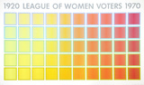 League of Women Voters Serigraph by Richard Anuszkiewicz