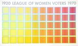 League of Women Voters Serigraph by Richard Anuszkiewicz