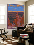 Thor's Hammer, Bryce Canyon, Utah Wall Mural by  Lantern Press