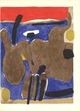 Composition (Lg) Serigraph by Maurice Esteve