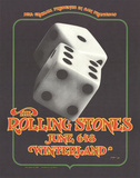 The Rolling Stones, June 6&8, Winterland Serigraph by Bill Graham
