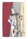 L'Arlequin Serigraph by Maurice Brianchon