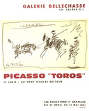 Toros Serigraph by Pablo Picasso