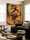 Dia De Los Muertos Marionettes Reproduction murale par  Lantern Press