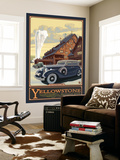 Old Faithful Inn, Yellowstone National Park, Wyoming Wall Mural by  Lantern Press