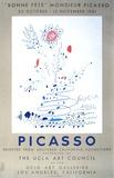 Bonne Fete Monsieur Picasso Serigraph by Pablo Picasso