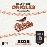 Baltimore Orioles - 2016 Boxed Calendar Calendars