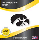 Iowa Hawkeyes - 2016 Boxed Calendar Calendars
