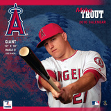 Los Angeles Angels Mike Trout - 2016 Wall Calendar Calendars