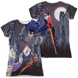 Juniors: Batman The Animated Series- Bounce (Front/Back) Shirt