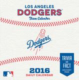 Los Angeles Dodgers - 2016 Boxed Calendar Calendars
