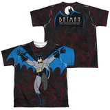 Youth: Batman The Animated Series- Cave Leap (Front/Back) T-shirts