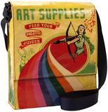 Art Supplies Messenger Bag Taschen mit speziellen Motiven