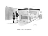 """I'm just trying to keep things fresh."" - New Yorker Cartoon Premium Giclee Print by Will McPhail"