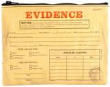 Evidence Zipper Pouch Bolsinha com zíper