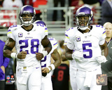 Adrian Peterson & Teddy Bridgewater 2015 Action Photo